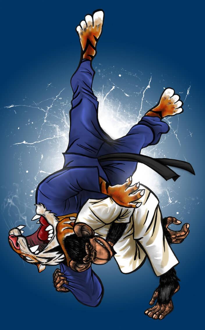 Insane Judo Anime Style Extreme Judo Weekly